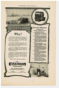 Details about 1919 AD EISEMANN MAGNETO-COMPANY, TRACTOR, TRUCKS, NATIONAL  CASH REGISTER CO