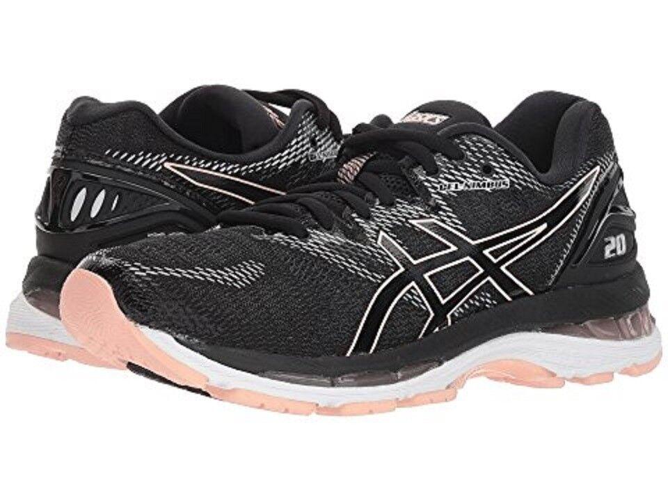 ASICS T850N.001 GEL-Nimbus® 20 Wmn's (M) Black/Frost Mesh Running Shoes