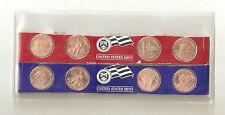 2009 P + D 8-piece bicentennial Lincoln cent set 95% copper