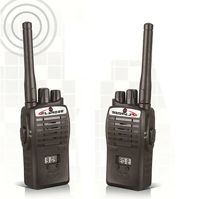 2X Walkie Talkie Kids Electronic Toys Portable Two-Way Radio Set Useful