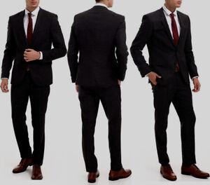 27bc313169d NWT HUGO(Hugo Boss Red Label) Slim Fit 120 Super Wool Luxurious ...