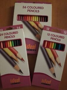 West-Colouring-Pencils