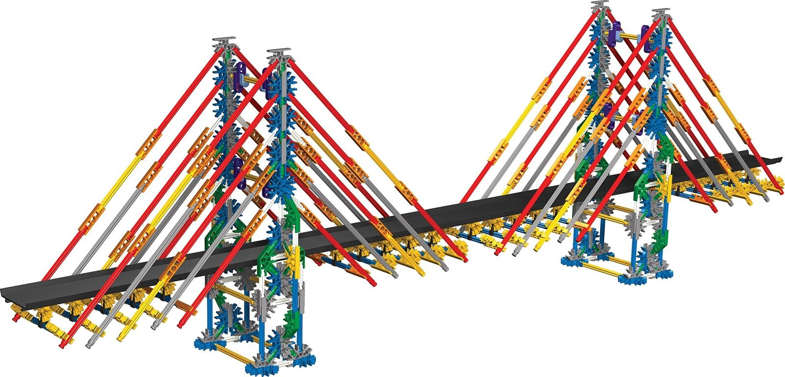 K'NEX K'NEX K'NEX Education Real Bridge Building Set for Ages 10+ Construction Educationa... 3d9aca