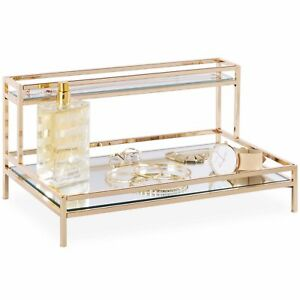 Beautify Mirrored Jewelry Amp Cosmetic Display Tray