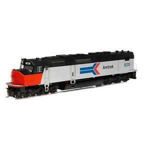 HO-Scale-Athearn-Genesis-63976-SDP40F-Amtrak-520-w-SOUND-amp-DCC