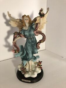 "Vintage Soltano Collection Resin Angel Figurine approx 14"" Tall"