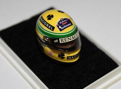 1:12 JF Creations Williams helmet GP Imola Last Race Senna 1994