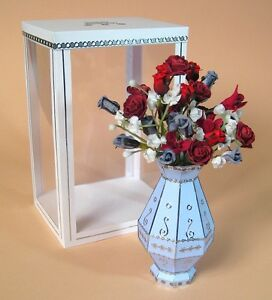 a4 card making templates 3d flower vase ebay