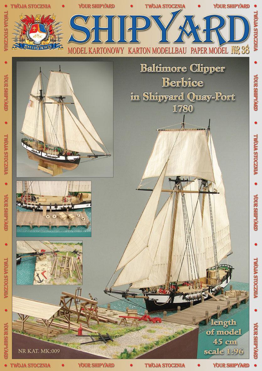 96 1 Port Quay Shipyard in Berbice Clipper Baltimore 38