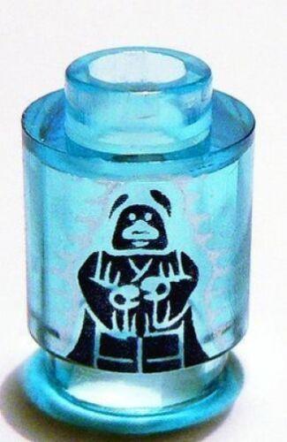 LEGO STAR WARS Darth Sidious Holo Round 1 x 1 w// Emperor Palpatine Brick