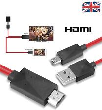 2M MHL USB TO HDMI HD TV Cable For Samsung Galaxy S3/S4/S5 Note2/3 TAB 10.1/8.0