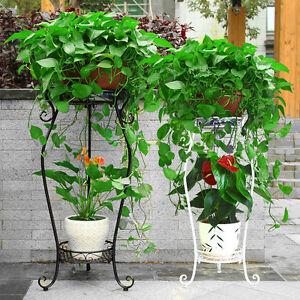 m tal support de fleurs plantes escalier fleurs support. Black Bedroom Furniture Sets. Home Design Ideas