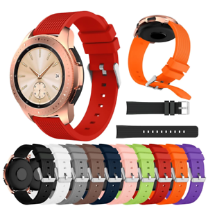 For Galaxy Watch 46MM Strap Sports Gym Replacement Silicone Smart Watch Band
