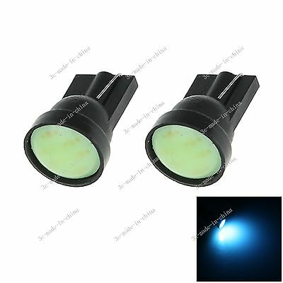 2X Car Ice Blue 1 LED COB SMD  T10 W5W Wedge Side Light Bulb Indicat Lamp A068