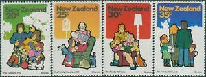 New-Zealand-1981-SG1239-1242-Family-Life-set-MNH