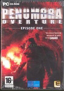 Penumbra - épisode 1 : overture de Lexicon  - PC CD ROM - NEUF