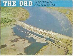 FOLD OUT VIEWS OF THE ORD WESTERN AUSTRALIA POSTCARD