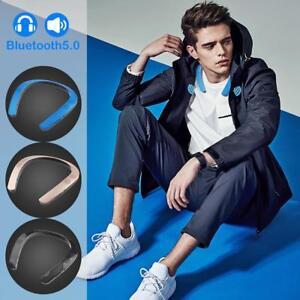 Wearable-Neckband-Wireless-Mini-Stereo-Bluetooth-Speaker-Headset-Sports-Earphone
