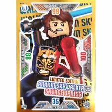 LE16 Wonder Woman vs Steppenwolf Limitierte Auflage LEGO Batman Movie Karten Nr