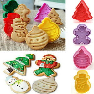 Xmas-Fondant-Cake-Cupcake-Decorating-Cookie-Biscuit-Plunger-Cutter-Mold-Tools