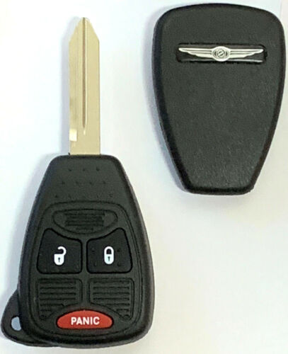 Chrysler 3 Button Remote Head Key OHT692427AA Premium Quality USA Seller