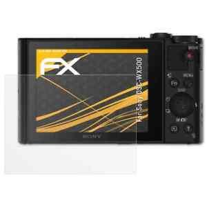 atFoliX-3x-Beschermfolie-voor-Sony-DSC-WX500-Screen-Protector-mat-amp-schokbestendig