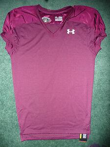 UNDER ARMOUR  mens Football Practice Jersey New size SMALL  burgundy  heatgear