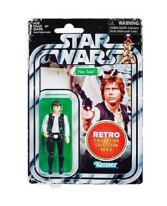 """Star Wars retro Collection-han solo 3,75/""""//target Exclusive"""