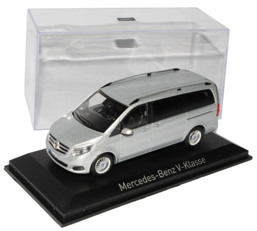 Mercedes-Benz V Class Viano 447 Silver From 2014 1//43 Norev Model Car With Or