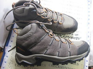 New Columbia Lakeview 5204 227 Mid Men S Suede Leather Hiking Boots Choose Size Ebay