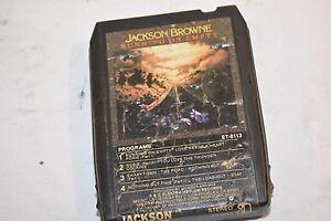 JACKSON BROWNE RUNNING EMPTY ET-8113 8 TRACK TAPE