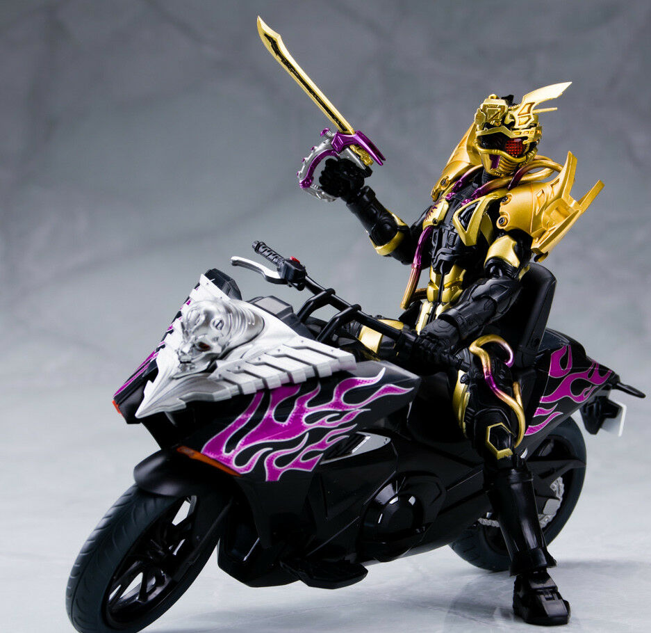 Japan Rare S.H.Figuarts Super Mashin Chaser & Ride Chaser Action Figure MISB