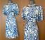 Karen-Millen-UK-12-Blue-White-Print-Jersey-Kimono-Sleeves-Formal-Casual-Dress-40 thumbnail 1
