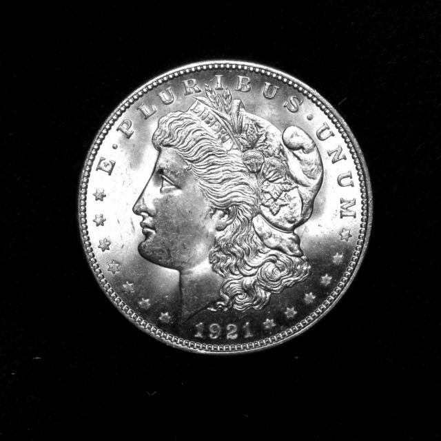 1921 P ~**CHOICE AU/UNCIRCULATED**~ Silver Morgan Dollar Rare US Old Coin!