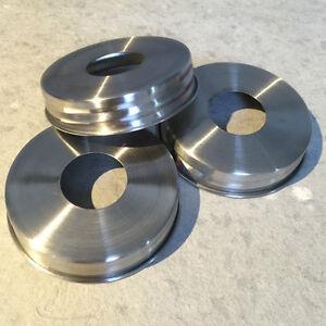 3x Stainless Steel Rust Proof Soap Pump Dispenser Lid