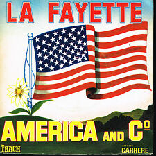 "45T 7"": America and co: la fayette. ibach. A7"