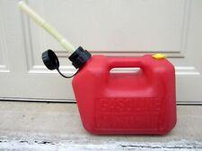 Blitz 1 Gallon 4oz Vented Gas Fuel Can With Flex Spout 11802 Usa
