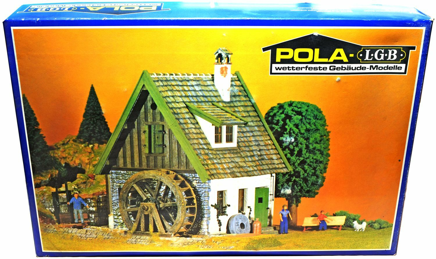 Pola - LGB Watermill - Set MINT CONDITION LGB Compatible painted kit