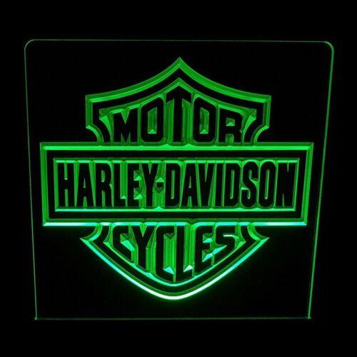 ACRYLIC LED SIGN HARLEY DAVIDSON 2