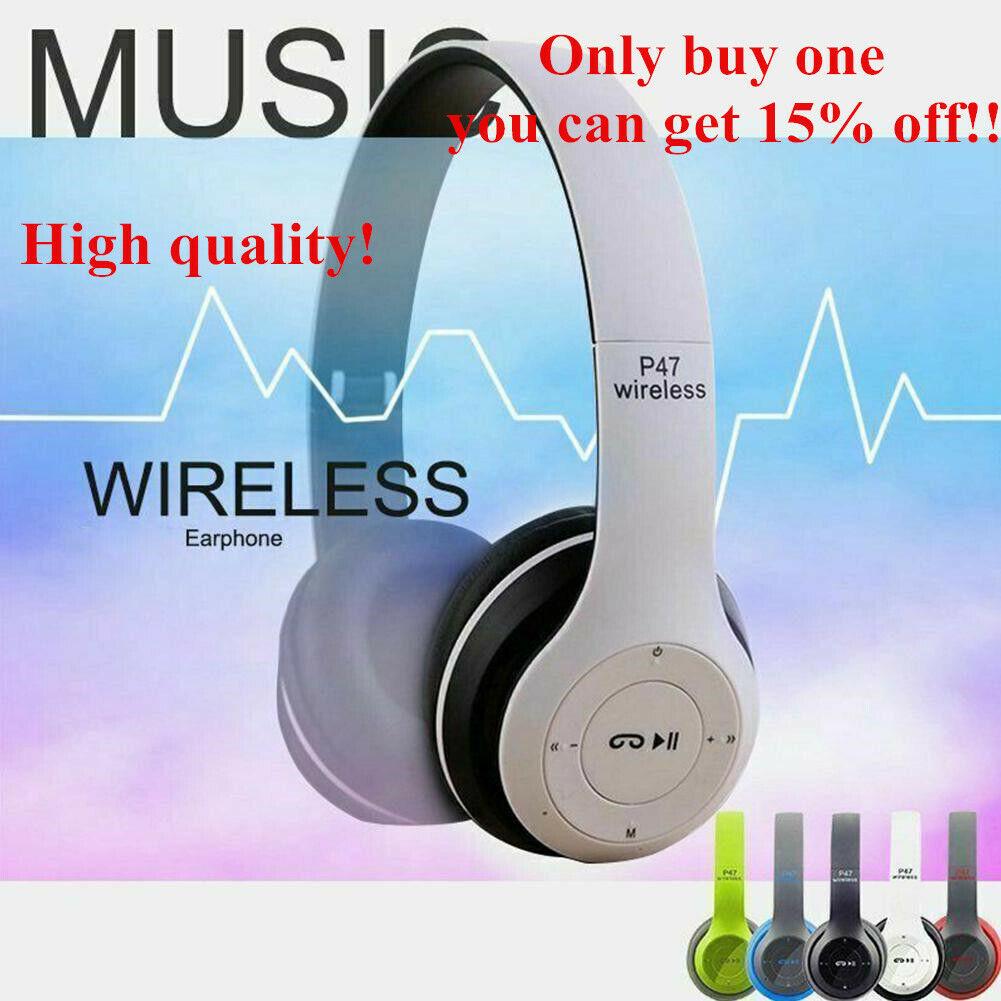 Egrd Design Foldable Bluetooth Headset Headphones Wireless Sports For Sale Online Ebay