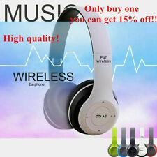 Auriculares Bluetooth Inalámbrico Plegable Auriculares estéreo Super Grave Headset Mic