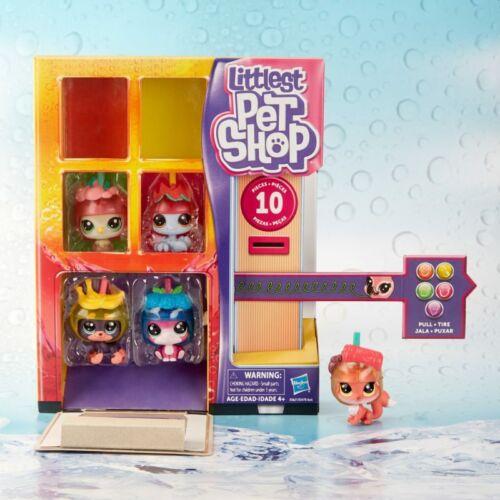 Rare UK SELLER Littlest pet shop Vending Machine 5 pets