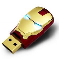 8GB Iron Man Flash Drive Memory Thumb Stick U-Disk Silver USB 2.0 ironman NEW