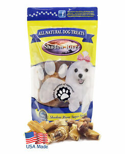 Shadow River MONSTER Bully Bites for Dogs - 100% USA Beef Bully Stick Pieces 1lb