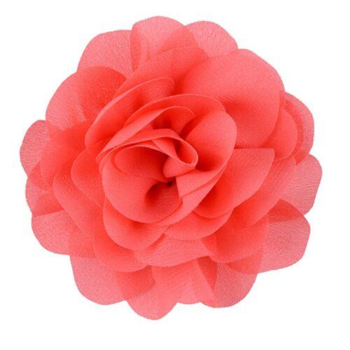 Kids Infant Baby Girls Rose Flower Flower Hair Clips Hairbow Accessory Acvt