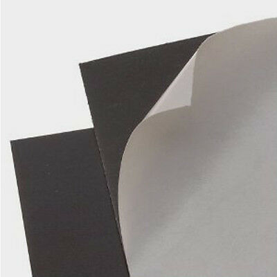 A4 610mm Rolls of 0.85mm Plain Self Adhesive Vinyl Flexible Magnetic Sheeting