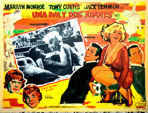SOME-LIKE-IT-HOT-US-FILM-FEST-MEXICAN-LOBBY-CARD-MARILYN-MONROE-TONY-CURTIS