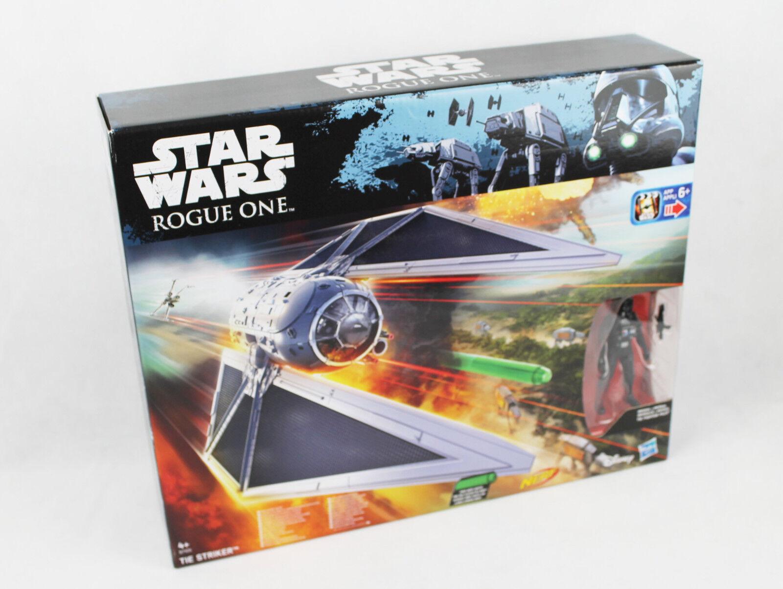 Star Wars Rogue One Fahrzeug - Tie-Striker mit 3.75 Figur (B7105)