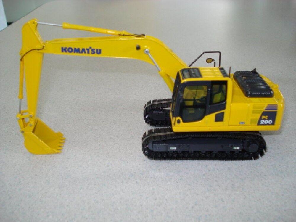 mejor opcion   nuevo  excavadora excavadora excavadora hidráulica Komatsu PC200-8 tipo N1 1 50 Diecast F S de Japón  el mas reciente