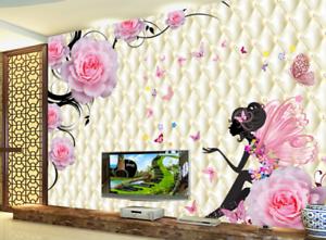3D Butterflys Fairy 74 Wall Paper Murals Wall Print Wall Wallpaper Mural AU Kyra